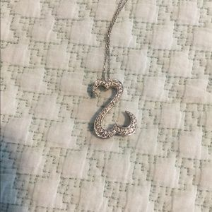 Kay Jewelers Jewelry - Jane Seymour 14k 38 diamond open heart necklace